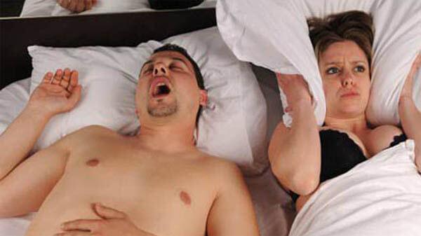 spouse snores