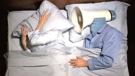 snoring versus sleep apnea