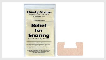 Chin-up Strips review
