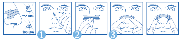 How to use Nasal Strips