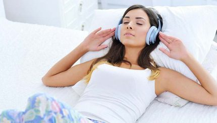 snore-banishing headphones