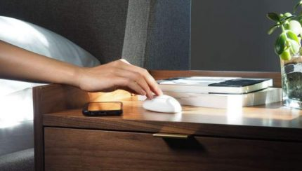 Smart Nora high-tech snoring solution