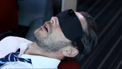 Snore Circle anti-snoring eye mask