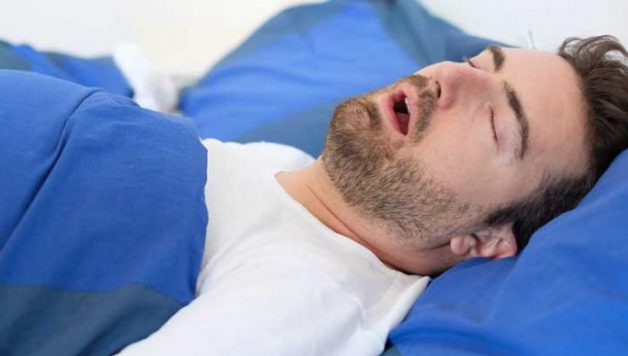 loud snoring may weaken the skull