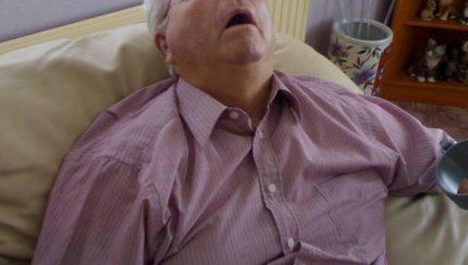 snoring while awake